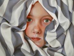 Jantina Peperkamp超写实肖像画作品欣赏