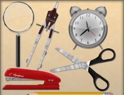 多种办公用品PSD素材