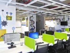 ebay以色列办公室漂亮的墙绘插