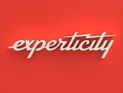 闪电的力量:Experticity更换新标识
