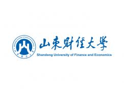 大学校徽系列:山东财经大学标志矢量图