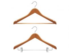 2款衣架矢量素材