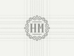 HM Monogram視覺形象設計欣賞