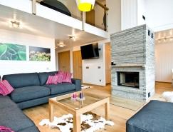 瑞典简约风格双层公寓设计