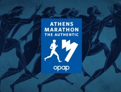 希腊雅典经典马拉松赛新LOG