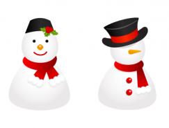 雪人PNG图标素材256x256