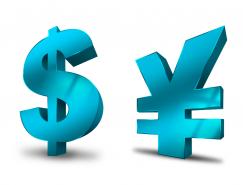 3D货币符号PNG图标512x512