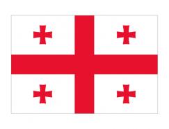 格魯吉亞國旗矢量圖