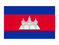 柬埔寨國旗矢量圖