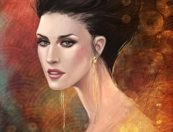 Claudia Ianniciello幻想风格人物插画欣赏
