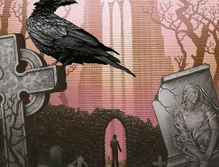 Patrick Arrasmith图书封面插画设计