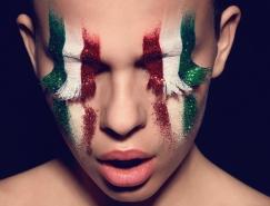 Henrik Adamsen国旗元素时尚肖像摄影欣赏