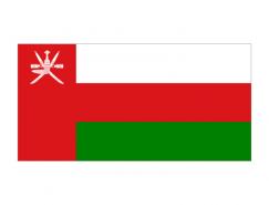 阿曼国旗矢量图