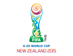 2015新西兰U-20世界杯会徽logo矢量图