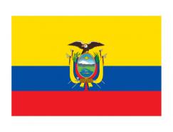 厄瓜多尔国旗矢量图