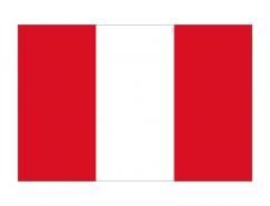 秘鲁国旗矢量图