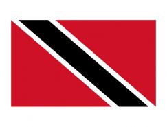 特立尼达和多巴哥国旗矢量图
