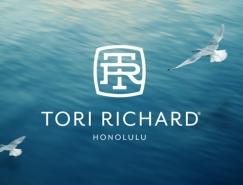 服裝品牌Tori Richard新品牌視覺形象欣賞