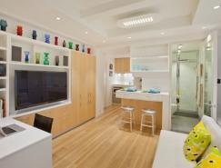曼哈顿32平米简约的小户型公寓设计