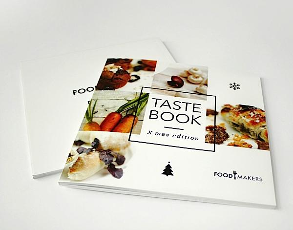 美食杂志版式设计:taste book圣诞节特别版