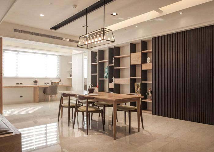 极简大气的台湾Loft公寓设计