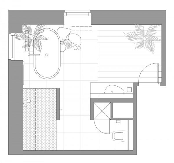 8个豪华卫生间设计欣赏