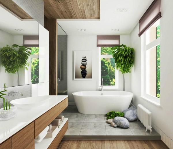奢华的家庭卫生间装修图案例分享