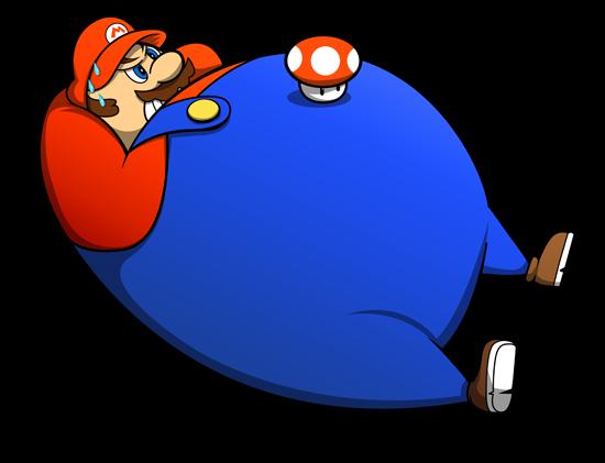 Ferdi Trihadi肥胖版的超级英雄和动漫人物(2)