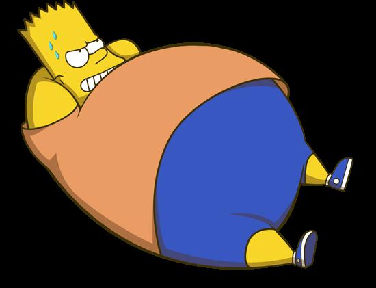 Ferdi Trihadi肥胖版的超级英雄和动漫人物