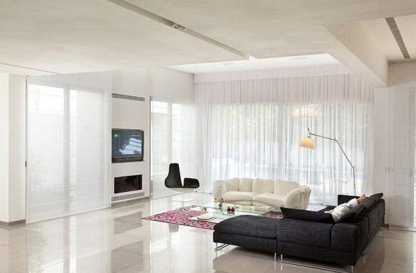飘窗设计 16款窗帘帮你亲近阳光高清图片