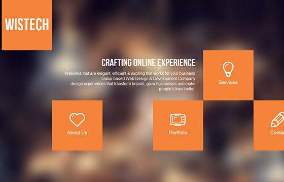 60个国外单页面网站设计欣赏