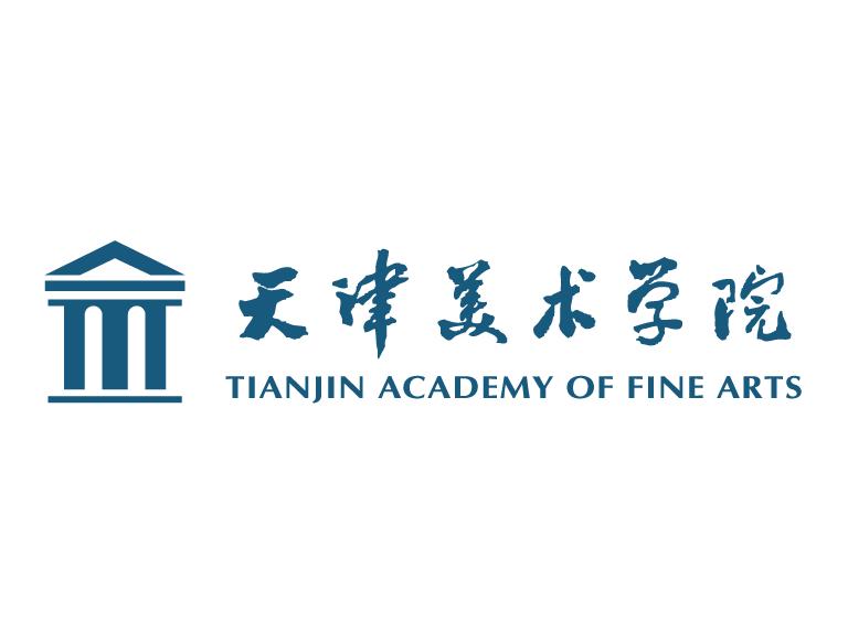 校徽系列 天津美术学院标志矢量图