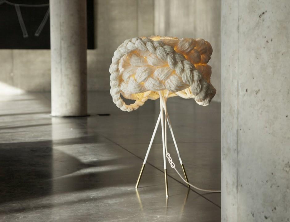 Mammalampa创意纸麻花灯具