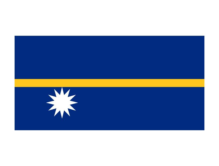 国旗呈长方形,长宽之比为2:1.