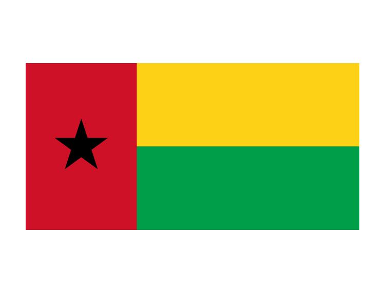 红色象征为民族独立而斗争的战士的鲜血;黄色象征国家的财富、丰收和人民的希望;绿色象征农业;黑色五角星象征国家的执政党——几内亚和佛得角非洲独立党,还象征非洲黑人的尊严、自由与和平。 EPS格式,矢量国旗,国旗,几内亚比绍国旗,矢量素材