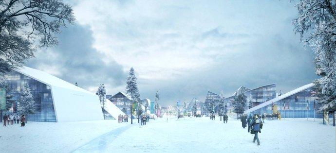 挪威奥斯陆冬奥会_奥斯陆申办2022年冬奥会logo和视觉形象设计 - 设计之家