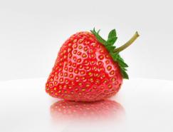 逼真的草莓PSD素材
