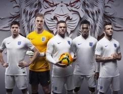 英格兰国家队2014世界杯球衣装备