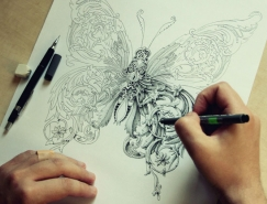 Alex Konahin精細的手繪作品欣賞
