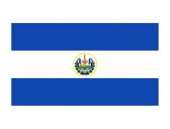 萨尔瓦多国旗矢量图