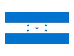洪都拉斯国旗矢量图