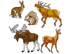 野生动物矢量素材(2)
