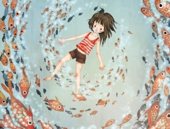 海洋之夢:Khoa Le兒童圖書插畫欣賞