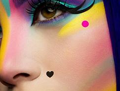 Karla Powell创意眼睛彩妆摄影欣赏
