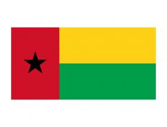 几内亚比绍国旗矢量图