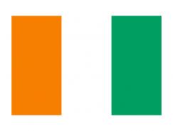 科特迪瓦国旗矢量图