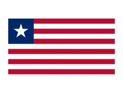 利比里亚国旗矢量图