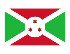 布隆迪國旗矢量圖