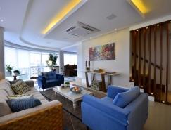 巴西现代豪华复式住宅设计欣赏