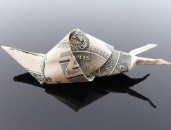 Craig Sonnenfeld美元钞票折纸艺术